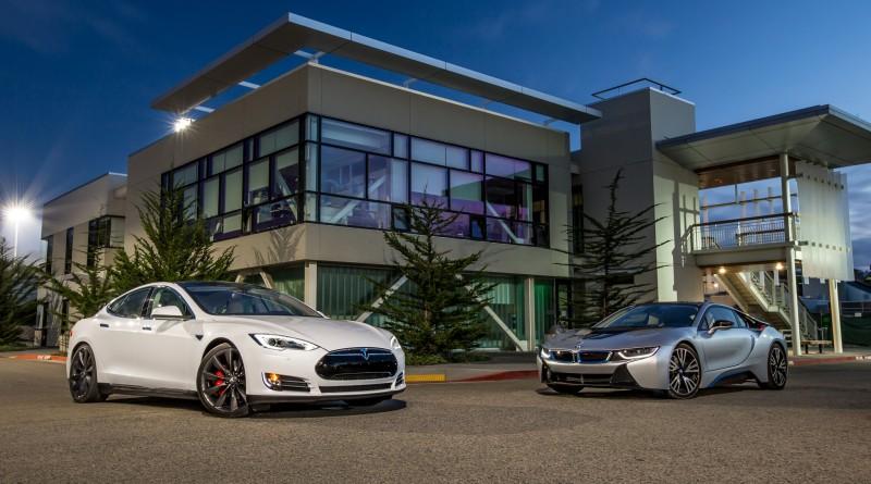 Tesla and BMW series