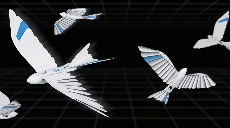 Festo created robotic birds