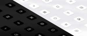 monochrome icons for iOS 14