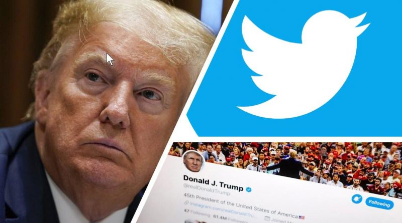 trump's twitter account compromised