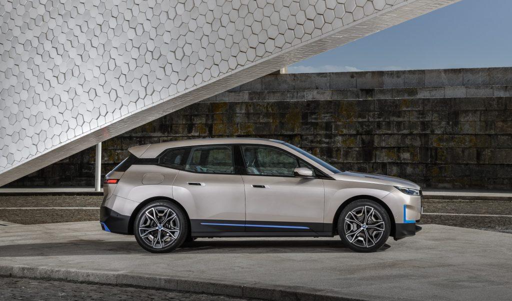 iX car by BMW