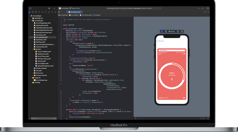 pros of using SwiftUI for iOS apps development