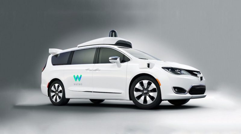 Waymo self driving cars